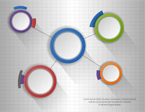 Circle infographic chart, diagram, scheme. Illustration of Circle infographic chart, diagram, scheme Stock Images