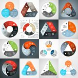 Circle infographic. Diagram, graph, presentation. Stock Photography