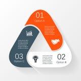 Circle infographic, diagram, presentation, graph Stock Photo