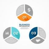 Circle infographic, diagram, presentation, graph Stock Photography