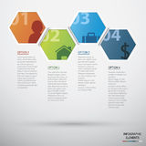 Circle Infographic Royalty Free Stock Image