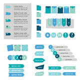 Circle infographic template. Royalty Free Stock Photo