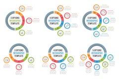 Circle Infographic Templates Stock Photos