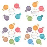 Circle Infographics Royalty Free Stock Photos