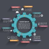 Circle Infographics Royalty Free Stock Photos