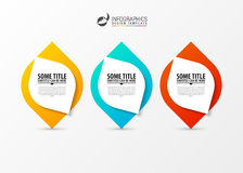 Circle infographics. Template for diagram. Vector illustration. Circle infographics. Template for diagram, graph, presentation and chart. Vector illustration Royalty Free Stock Photography