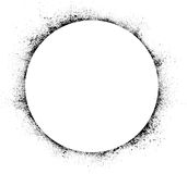 Circle ink blots background Royalty Free Stock Image