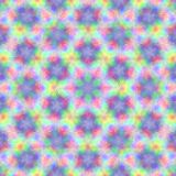 Circle kaleidoscopic synthetic Art background, complex geometry Stock Images