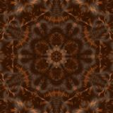 Circle kaleidoscopic synthetic Art background, complex geometry Stock Photos
