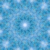 Circle kaleidoscopic synthetic Art background, complex geometry Royalty Free Stock Photos