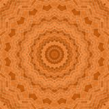 Circle kaleidoscopic synthetic Art background, complex geometry Royalty Free Stock Photography