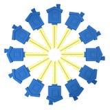 Circle of keys Royalty Free Stock Photo