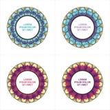 Circle Labels or tag Royalty Free Stock Photos