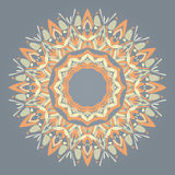 Circle Lace Ornament Royalty Free Stock Photography