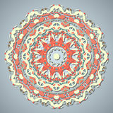 Circle Lace Ornament Stock Images