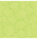 Circle Leaf Pattern Stock Image