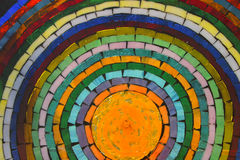 Circle of Life. This is a tiled mosaic Stock Photo