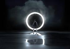 Circle of Light Stock Photography