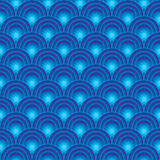 Circle Light Seamless Pattern_eps Royalty Free Stock Image