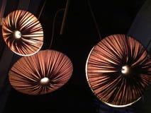 Circle lights. Design round lights stock photo