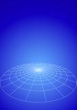 Circle of lights earth Stock Image