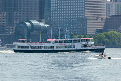 Circle-Line Sightseeing Cruise Royalty Free Stock Photography
