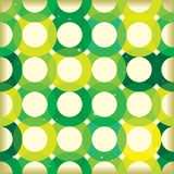 Circle link green background Royalty Free Stock Photography