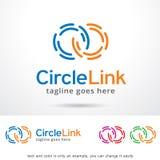 Circle Link Logo Template Design Vector Stock Image