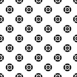 Circle loading, 25 percent pattern, simple style Stock Photos