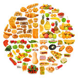 Circle with lots of  items Royalty Free Stock Image
