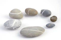Circle made of pebbles Royalty Free Stock Photos