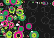Circle mania Stock Image