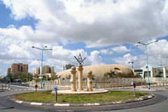 Circle of Masons in Beer Sheva Stock Images