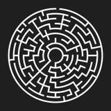 Circle Maze Vector Stock Photography