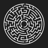 Circle Maze Vector Stock Photos