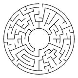 Circle Maze Vector Stock Images