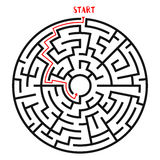 Circle Maze Vector Stock Photos
