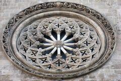 Circle Medievel Window Palermo Sicily Italy Stock Photo