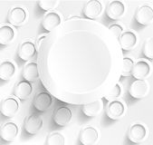 Circle mnogo 29.04.2013. Background options banner. illustration white and circles Stock Illustration