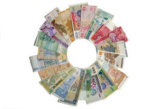 Circle money Stock Photos