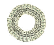 Circle of money Stock Images