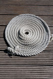 Circle of Mooring Rope Royalty Free Stock Image