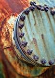 Circle nuts Stock Photo