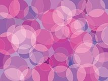 Violet bubble background. Circle orb purple pink violet blue shades abstract vector background stock illustration