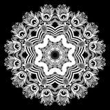 Circle ornament, ornamental round lace Stock Photos