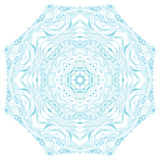 Circle ornament, ornamental round lace. Stock Photos