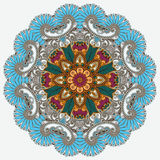 Circle ornament, ornamental round lace Royalty Free Stock Photo