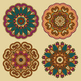 Circle ornament, ornamental round lace Stock Photography