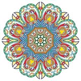 Circle ornament, ornamental round lace Royalty Free Stock Photos