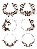 Circle Ornament Set Stock Image